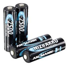Аккумулятор АА/NiZN ANSMANN 1.6V 2500mWh, 1500mAh