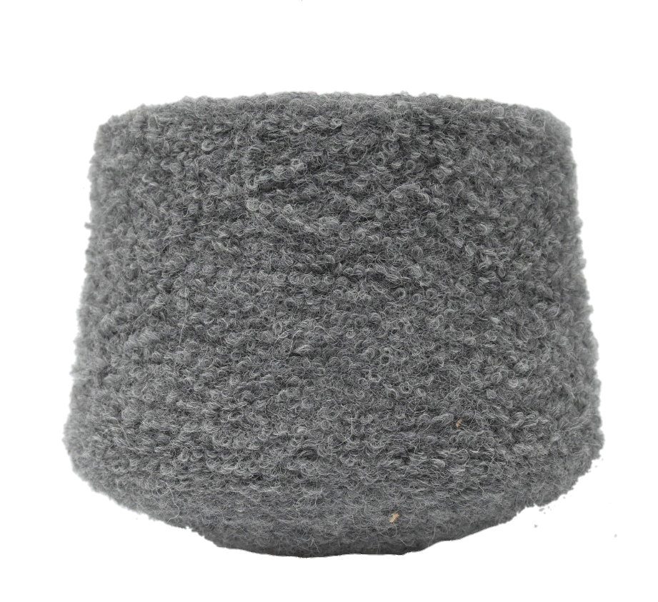 Пряжа Inca Tops Alpaloop ZD26 серый
