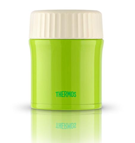 Термос для еды Thermos JBI-380 (0,38 литра), зеленый