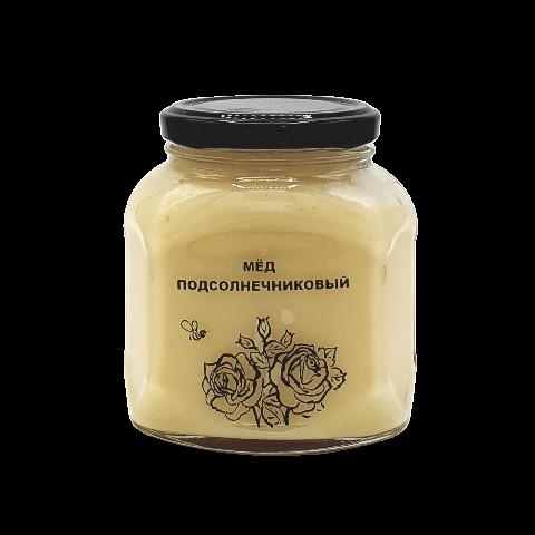 Мёд натуральный ПОДСОЛНЕЧНИКОВЫЙ, 500 гр