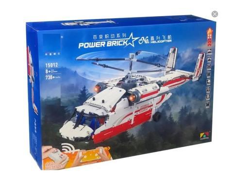 Конструктор радиоуправляемый Вертолет 738 детали MOULD KING-15012