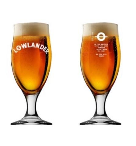 Набор из 6 бокалов для пива Lowlander, 330 мл