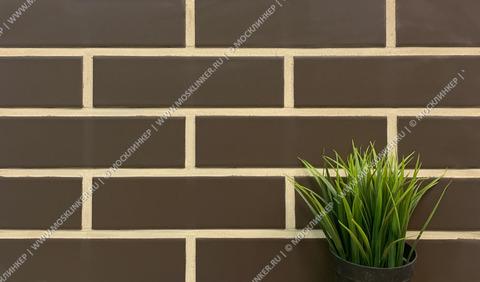 Paradyz - Natural/Plain brown, 245x65.8x7.4 - Клинкерная плитка для фасада и внутренней отделки