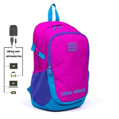 Çanta \ Сумка \ Bag CORAL HIGH SPORT SIRT ÇANTA(USB+AUX SOKETLİ) 23240
