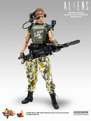 Aliens - USCM Private Vasquez 12 inch model kit