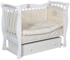 Детская кроватка Luiza 3 универсальный маятник+ящик