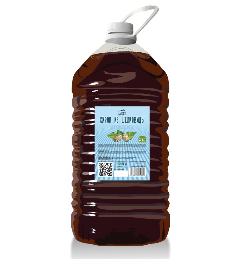 Сироп из шелковицы без сахара 5 литров - купить в интернет-магазине Эко Дары