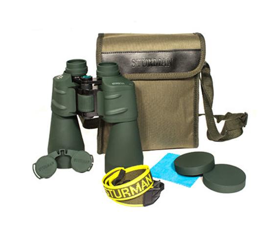 Бинокль Sturman 20x60 зелёный - фото 6