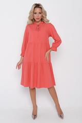 <p>Романтичное, летящее платье с благородными оттенками играет настолько сильно, что делает изделие изумительным. Модный фасон и идеальная посадка - один из важных моментов при подборе платья. Длина изделия 100 см.</p>