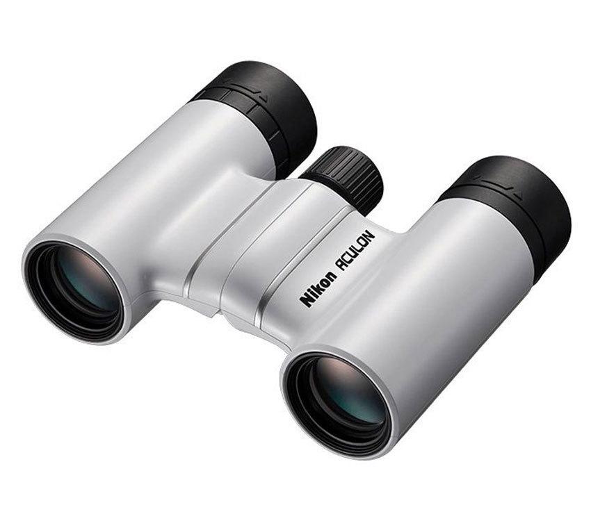 Бинокль Nikon Aculon T01 8x21 белый - фото 1