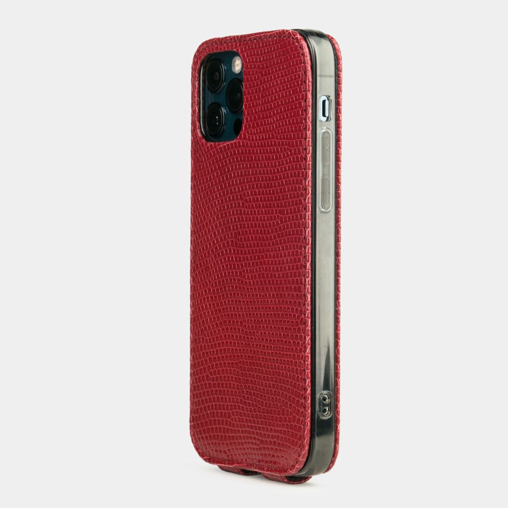 Case for iPhone 12 Pro Max - lizard red