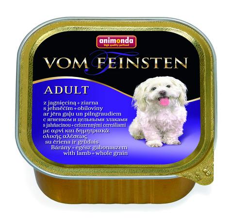 Консервы Animonda Vom Feinsten Adult с ягненком и цельными злаками для взрослых собак