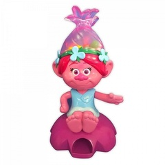 Тролли игрушка Розочка автомат для жвачки