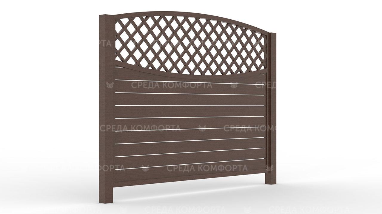 Деревянный забор ZBR0014