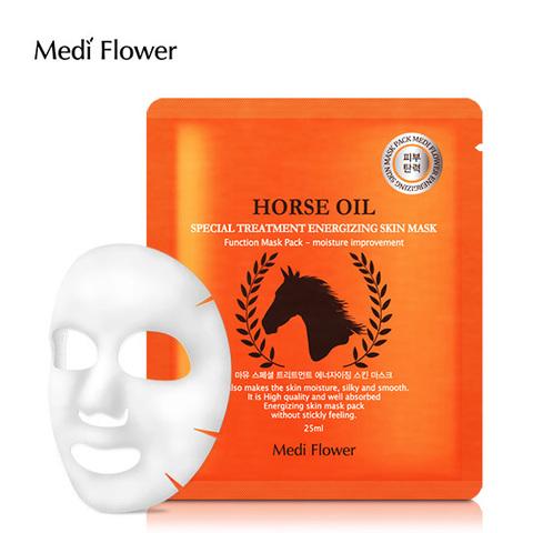 Маска интенсивная с лошадиным маслом - Special Treatment Energizing Mask Pack (Horse Oil)