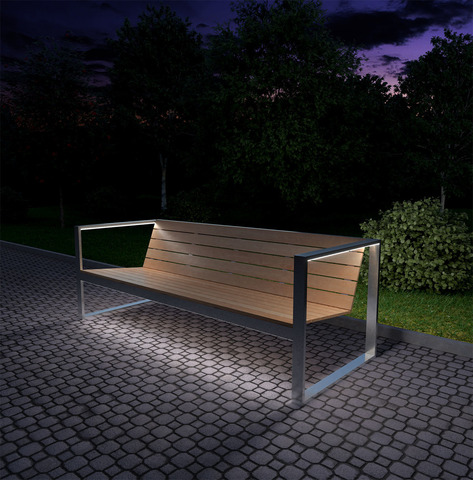 Sofa OUTDOOR with lights