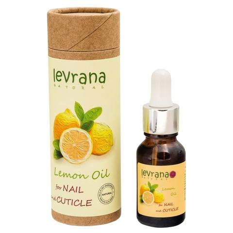 Масло для кутикулы, Лимон Levrana