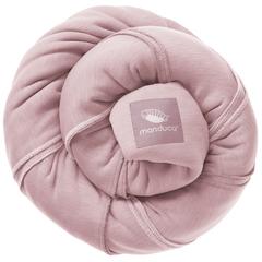 Трикотажный слинг-шарф manduca rose (розовый)