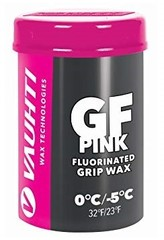 Мазь лыжная фтористая Vauhti GF Pink новый снег 0/-5 45г. GFP