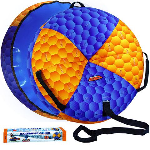 Сноутюб СУПЕРСКОЛЬЖЕНИЕ (пластиковое дно) БОЛЬШОЙ с сиденьем, диаметр чехла 107 см. Без индивидуальной упаковки.