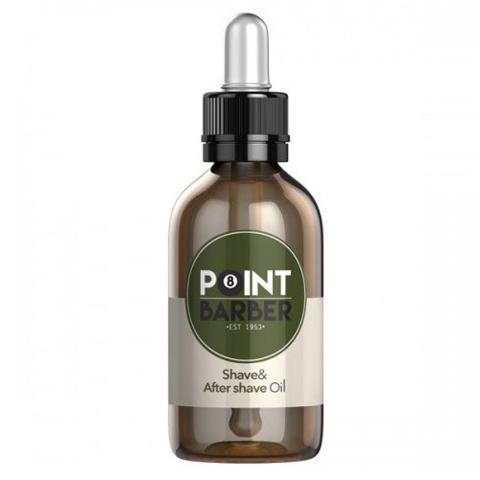 Farmagan Point Barber:  Увлажняющее и успокаивающее масло до и после бритья (Shave & After Shave Oil), 30мл