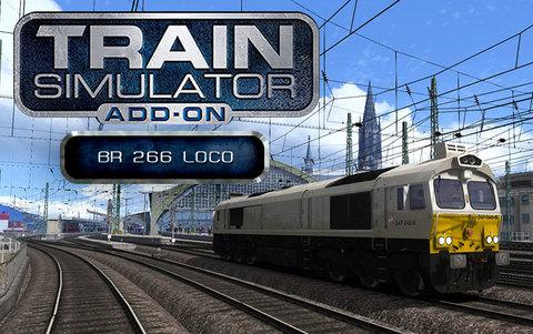 Train Simulator: BR 266 Loco Add-On (для ПК, цифровой ключ)