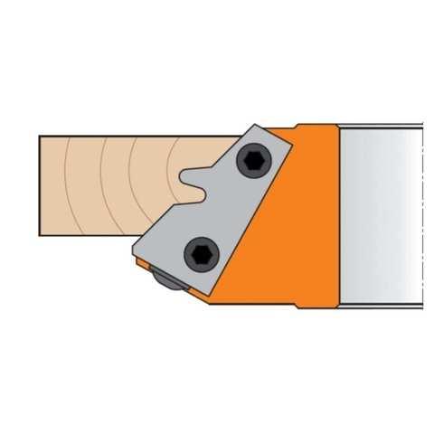 Комплект 2 ножей HM 33x42x2 45гр. для 694.011