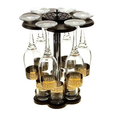 Мини-бар «Кристалл» под шампанское и водку, 12 предметов