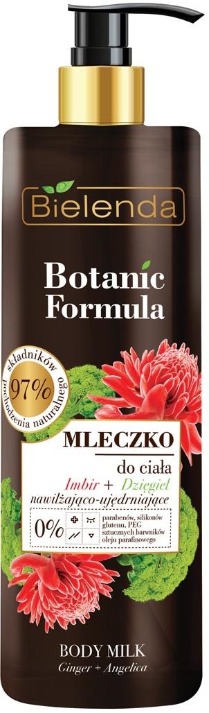 BOTANIC FORMULA Молочко для тела ИМБИРЬ+ДЕГОТЬ, 400мл