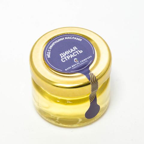 Мёд с эфирными маслами «Дикая страсть» 30 г