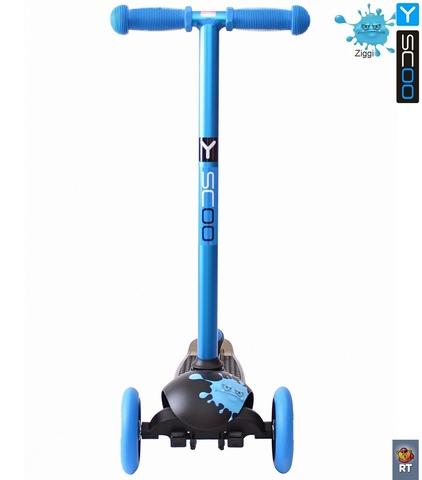 Трехколесный самокат Y-SCOO RT TRIO DIAMOND 120 Monsters