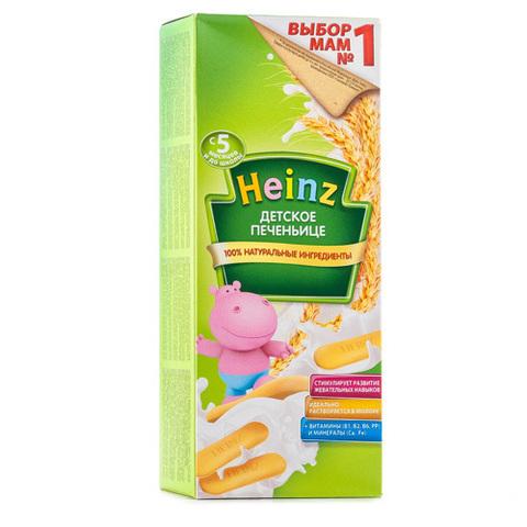 """Печеньице детское """"Heinz"""" классическое (с 5 месяцев) 180 г"""
