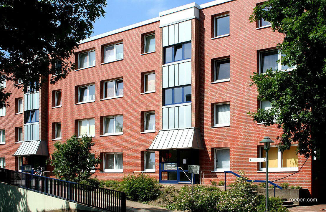 Roben - Westerwald, rot, NF9, 240x9x71, гладкая (glatt) - Клинкерная плитка для фасада и внутренней отделки