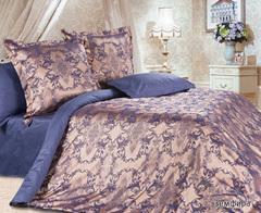 Жаккардовое постельное бельё семейное Земфира