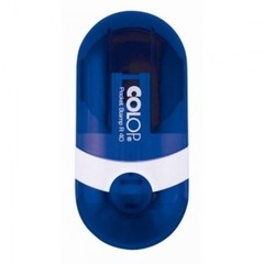 Оснастка для печати круглая Colop Pocket Stamp R40 40 мм с крышкой синяя