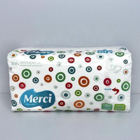Бумажные салфетки Merci (400 шт.)