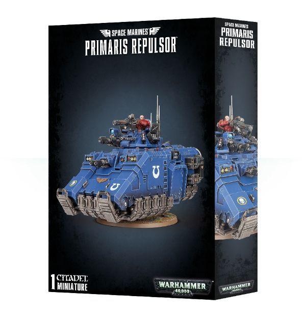 Primaris Repulsor, коробка