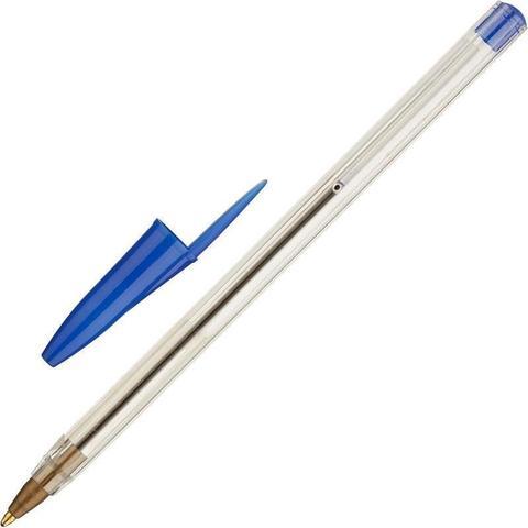 Ручка шариковая синяя (толщина линии 0.7 мм)