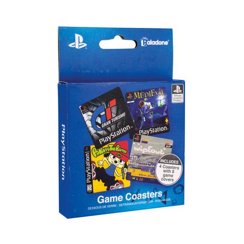 Подставки под напитки Playstation Game Coasters PP4136PS
