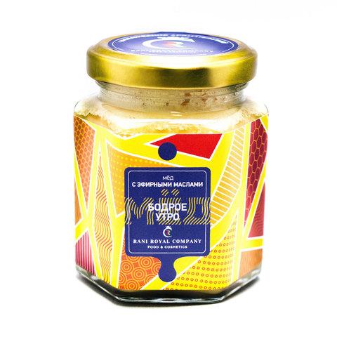 Мёд с эфирными маслами «Бодрое утро» 240 г