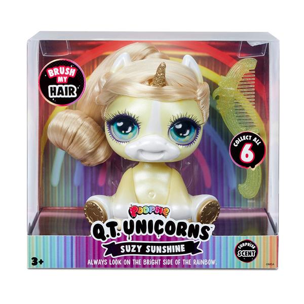 Poopsie Surprise Unicorn 567301-YEL Желтый единорог с волосами c аксессуарами