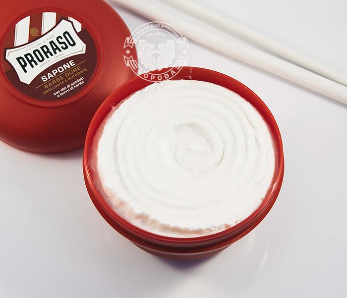 RAZ400116 Мыло для бритья «Proraso» с сандалом и маслом ши (150 мл) фото 04