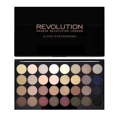 Набор из 32 оттенков теней Makeup Revolution 32 Eyeshadow Palette, Flawless