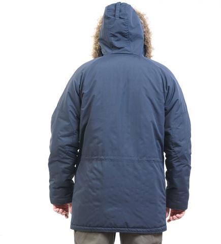 Зимняя куртка парка «Аляска» синяя