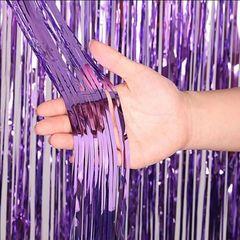 Занавес дождик, Фиолетовый, 100х200, 1шт.