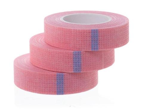 Лента-скотч на нетканой основе (розовый)