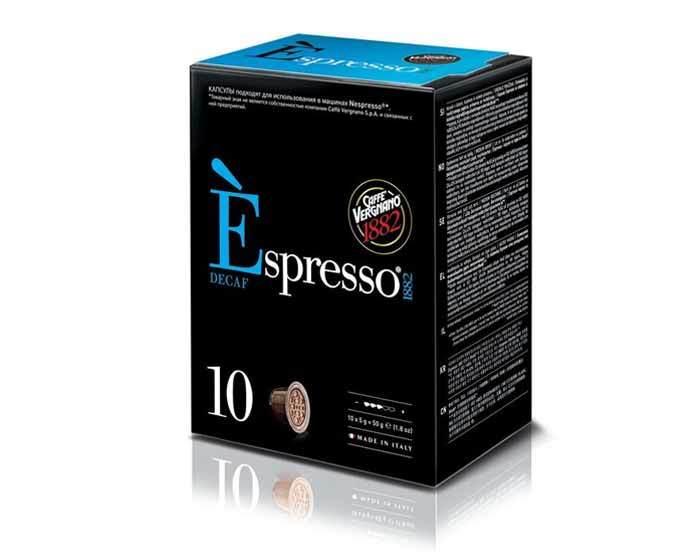 Caffe Vergnano 1882 Espresso Decaf