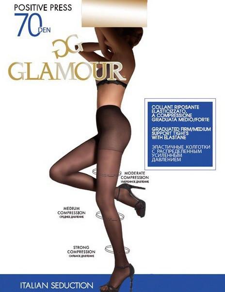 Колготки Glamour Positive Press 70