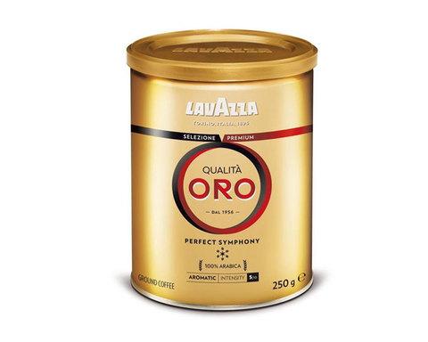 купить кофе молотый LavAzza Qualita Oro, 250 г банка
