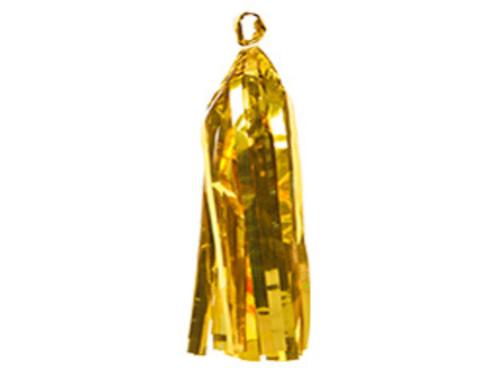 Гирлянда Тассел фольгированная золото
